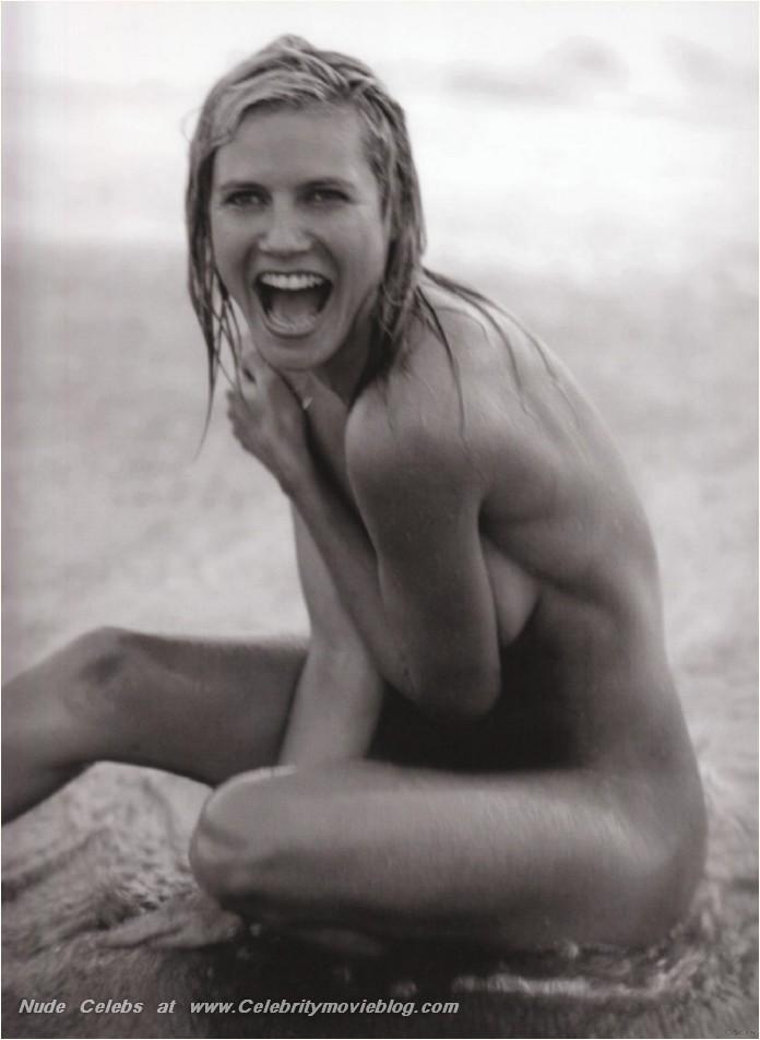 Heidi klum topless shoot new day