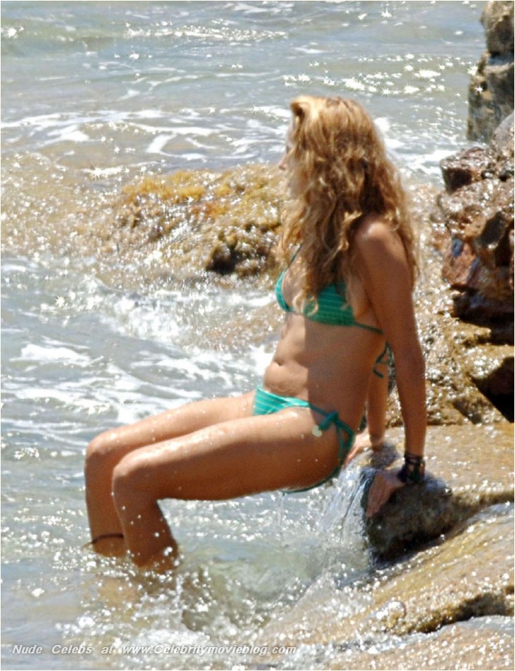 Simply excellent Paulina rubio naked at beach can