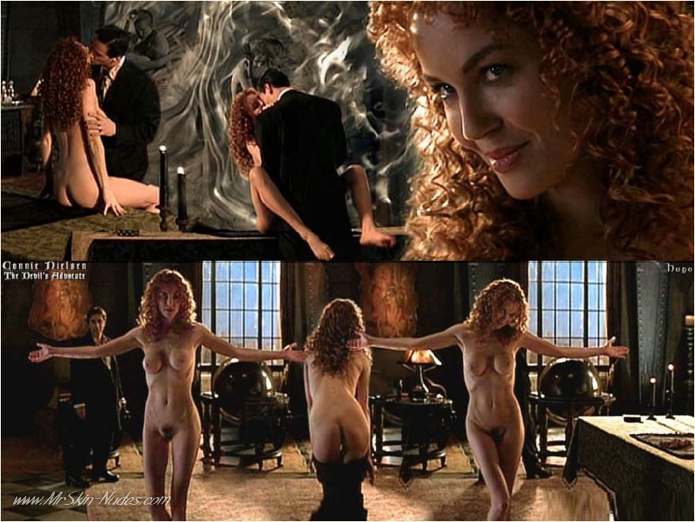 ::: MRSKIN :::Actress Connie Nielsen nude action movie scenes