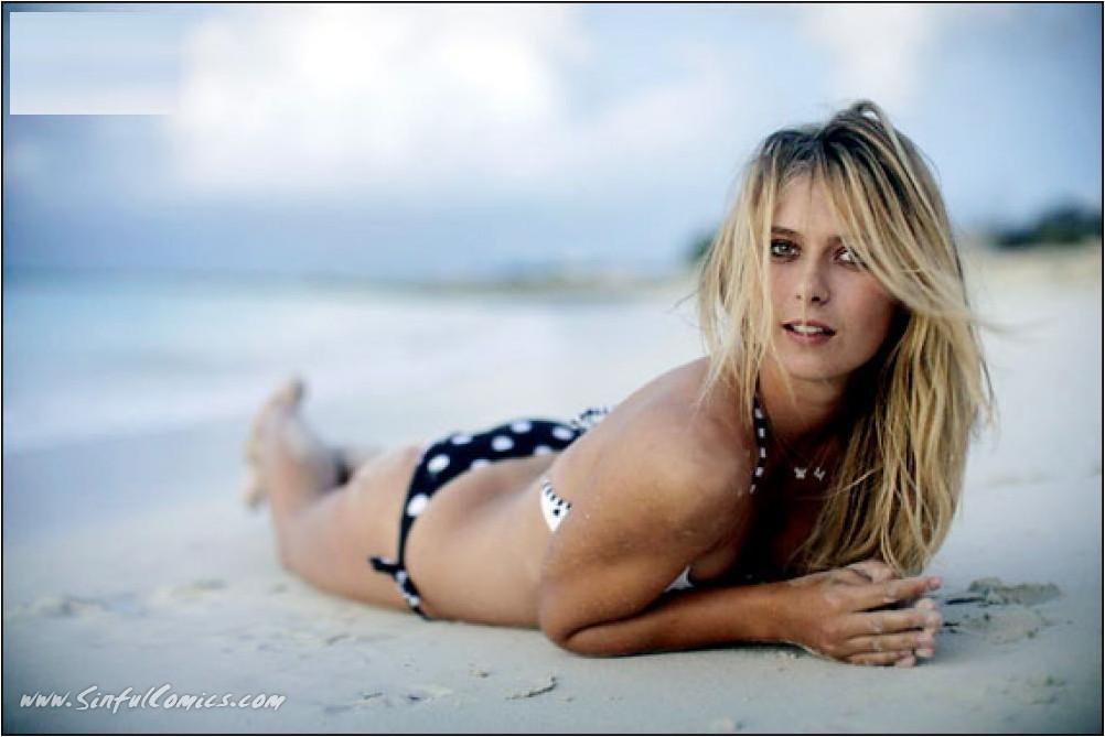 Maria Sharapova - nude celebrity toons @ Sinful Comics Free Membership.
