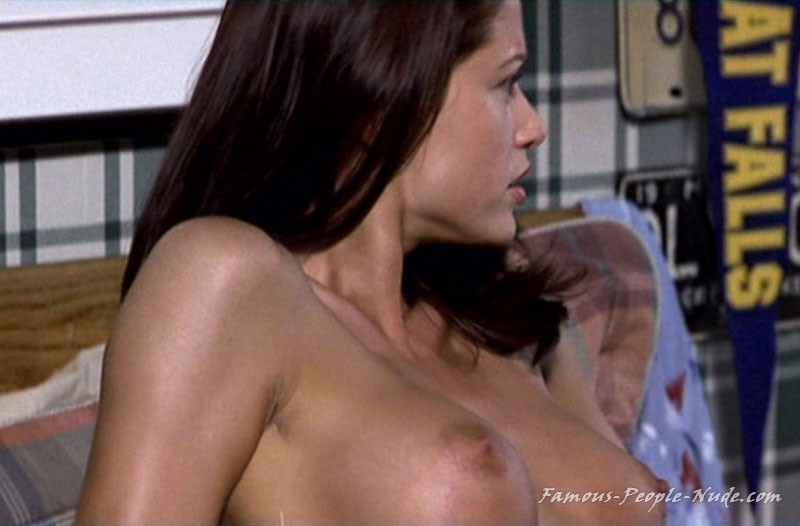 Possible Shannon elizabeth throat fuck and thought